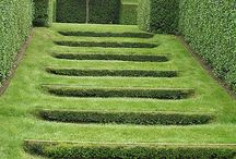 Steps / steps in garden situations