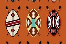 African Shield Designs