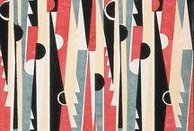 Art Deco pattern & textile design