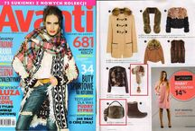 Press information about Gena / All magazines present Gena products
