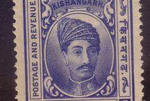 India - Kishangarh Stamps