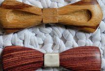 Noeuds Papillons Atelier Barnabé / L'Atelier Barnabé réinvente les accessoires de mode au travers de sa passion pour le bois. La marque est née de la créativité et du savoir-faire de son créateur.