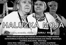 Halúzka Moja - Divadlo Štefana Kvietika / 14.12.2016 19:00 Kultúrny dom DŠK Vás pozýva na skutočný príbeh o živote našich dedinčanov - klenot z nášho regiónu. Vstupné v predpredaji 3 € ( so zľavou pre ŤZP 1,50 € ) je v Mestskom kultúrnom stredisku vo Veľkom Krtíši počas pracovných dní od 8:00 do 15:00 hod. ( tel.: 047/4831376 ) alebo na www.msks.velky-krtis.sk