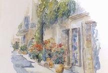 aquarelles Watercolors inspiration