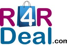 R4R Deal / R4R Deal is a online shopping site. You can purchase any product like T-Shirt, Pant, Jeans, Purse, for students and professionals.  http://r4r.co.in