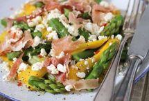 Rezepte. Salate