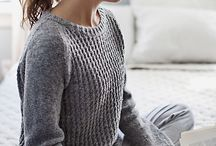 Womens clothes knitting