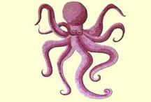 mosaic designs / mosaic octopus