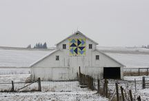 quilted, barn