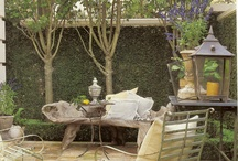 Gardens/Outdoor Dining / Beautiful gardens and outdoor dining spaces that inspire me.