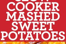 Sweet potato slow cooker