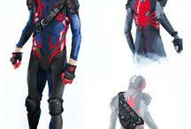 futuristic spider man
