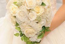 wedding bouquet(白系)