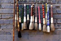 Calligraphy Artist Materials / Brushes for artists and accessoires