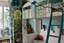 Nature theme room