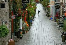 Beautiful streets etc