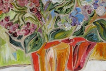 Painted Flowers & Gardens  / Endlessly inspired by the hues and nuances of painting flowers in all settings.