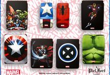 The Marvel cases for iPhone & iPad, by PielFort. / PielFort presents the official Marvel leather cases for iPhone and iPad. Now available!