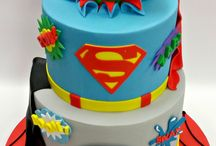 superhero cakes for boys