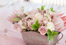 Protea and Rose Wedding
