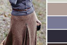 [color palette] clothes