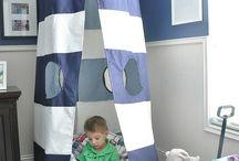 Boy Room Ideas / by Sarah Parys
