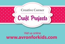 Creative Corner / Avron offers you a complete collection of our creative coordinator's craft projects. Have fun crafting!