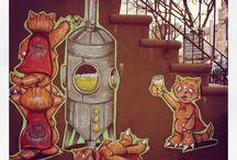 TOKIDOKI - City Kitty Street Art