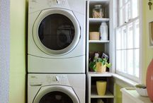 Cool Laundry Rooms / Cool organized ideas for Laundry rooms