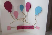 DIY cards / diy birthday crafts