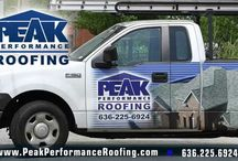 St. Louis Roofing Contractor / PEAK PERFORMANCE Roofing is Missouri's fastest growing roofing contractor because of our experience, understanding, and attention to detail in roof installation & roof repair. Rest assured that when you call us you will have a professional handling all your roofing needs, residential or commercial, from start to finish.