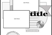 DCWV scrapbook layout challenge