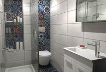 ΖΩΝΤΑΝΕΨΤΕ ΤΟ ΜΙΚΡΟ ΣΑΣ ΜΠΑΝΙΟ ΜΕ ΧΡΩΜΑΤΙΣΤΑ ΠΛΑΚΑΚΙΑ PATCHWORK / Το μπάνιο ανήκει σε αστική κατοικία στην Θεσσαλονίκη και έχει διάσταση 1,30x2.30m. Όλα τα προιόντα έχουν επιλεγεί από το www.e-bath.net