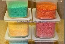 Diy: Coloured Sand