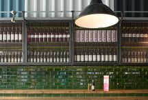 Bars and restaurants / Inspiration for interior projects