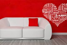 Valentine decals  / Lovely decals for the romantic season!  / by DezignWitha Z