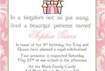 Birthday Party Invitations / by Amanda Warner