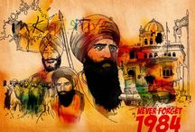 NEVER FORGET 1984 / Covering the events that took place in 1984 India