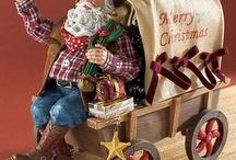 Possible Dreams Cowboy Santas