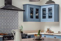 Hob splash back