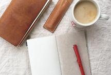 Notebooks / mostly traveler's notebooks