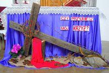 Pôstné obdobie - výzdoba kostola
