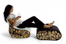 Wood stumps idea