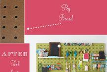 Peek-a-Boo Sewing Room Ideas / by Peek-a-Boo Covers (Car Seat Canopy)
