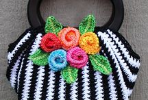 Crochet - Bags, purses, and backpacks / by Hanne Adelman