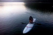 Kayak , Stand up Paddling , Sailorboard, Paddle / beautiful nature