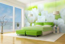 Papiers peints / Papiers peints Nature, Voyage, Fantaisie etc...pour cuisine, salon ou chambre à coucher