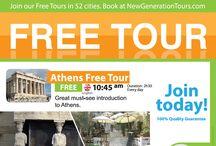 Free Tour / Free City Tour Orientation of Athens