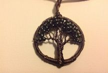 I made this! / Costume Jewelry I have made, things I have painted or designed.