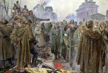 Pinturas russas da grande guerra patriótica